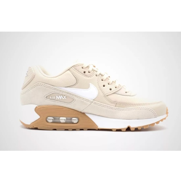 NIKE AIR MAX 90 WOMEN'S SIZE 8 TAN/WHITE NEW!!
